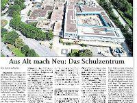 Aus Alt mach Neu: Das Schulzentrum Deggendorf