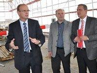 28.05.2010: Einleitung des 7. Bauabschnitts am Klinikum Weiden