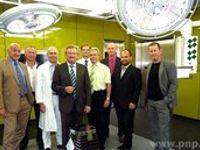 23.07.2013: Krankenhaus Vilshofen: Neue OP-Säle: So farbig wie