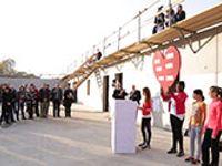 Neue Halle für Gisela-Schulen: Auf einem sportlichen Weg